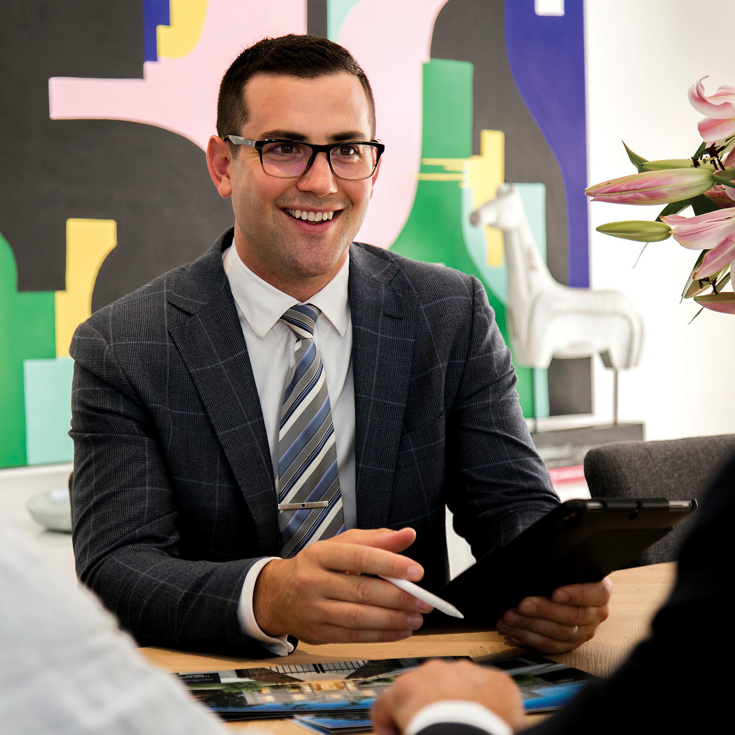 Todd Braggins - Professional Portrait
