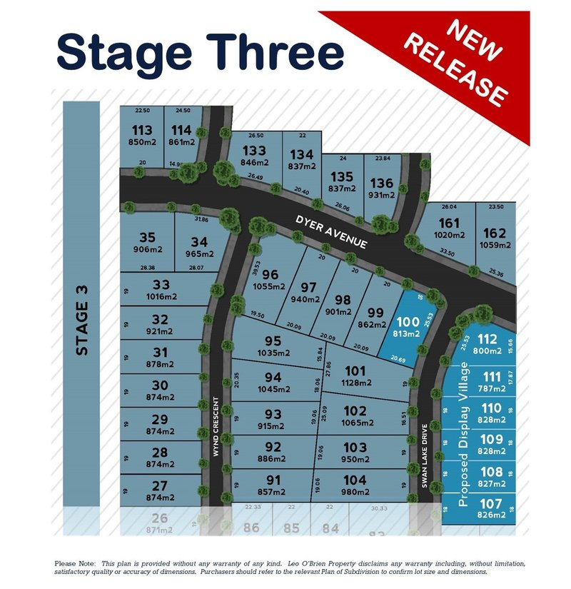 "Lot 110 ""Cobains Estate"" (Stage 3), Sale Image"