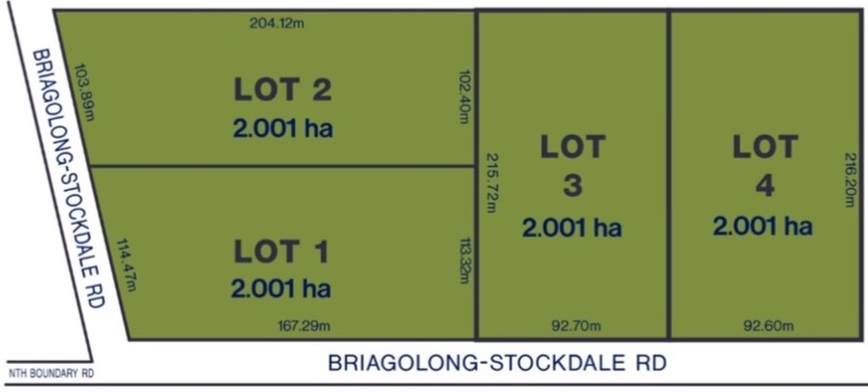 1, 2, 3 & 4 Briagolong-Stockdale Road Briagolong Image