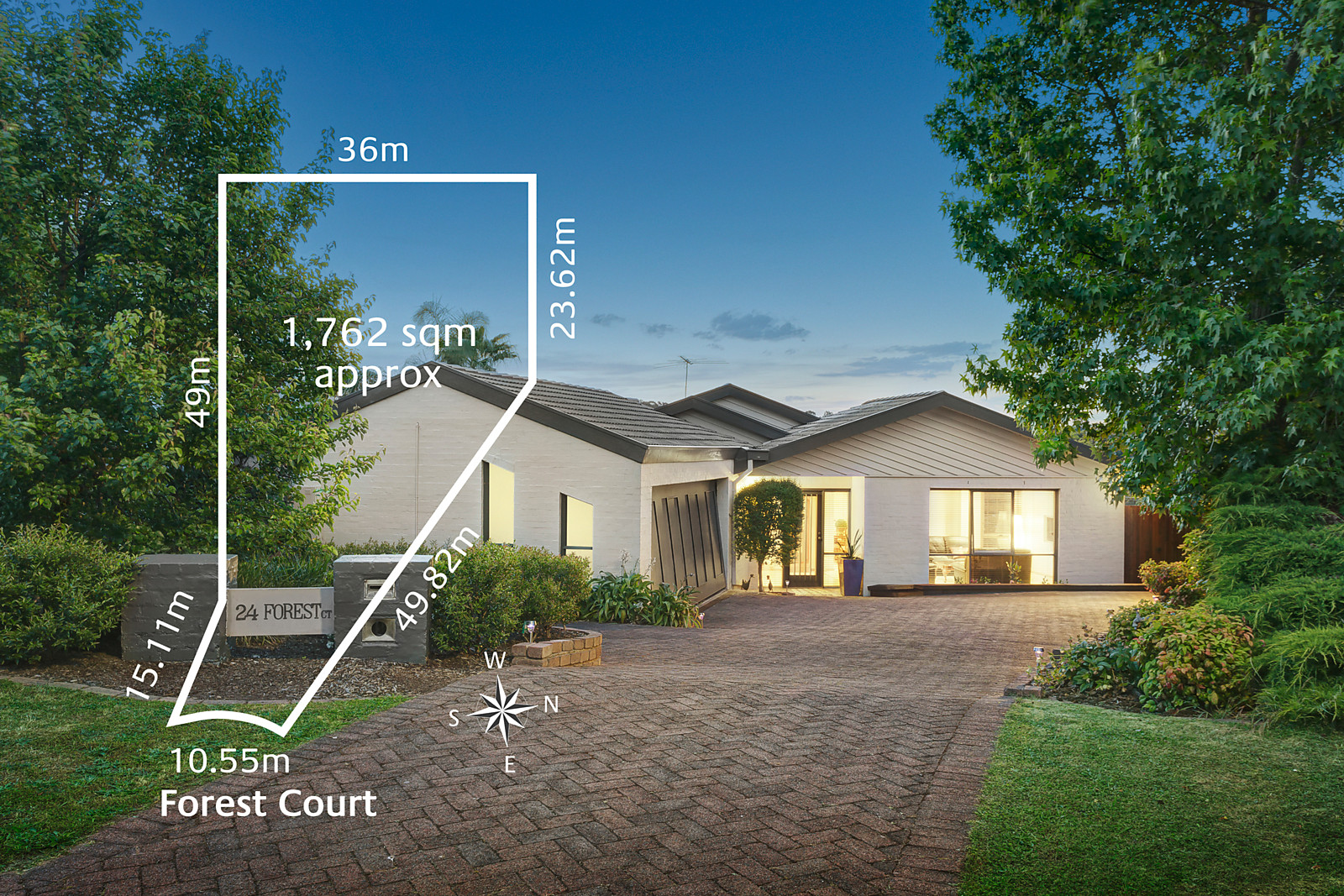 24 Forest Court, Templestowe - Print Image 1